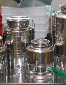 Cisterne e contenitori in acciaio